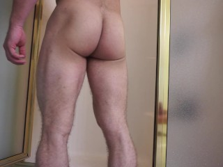 Sexy Musty Gym Shower Video