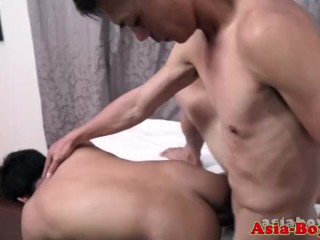Asian Twink Facialized Check Into Bareback Analsex